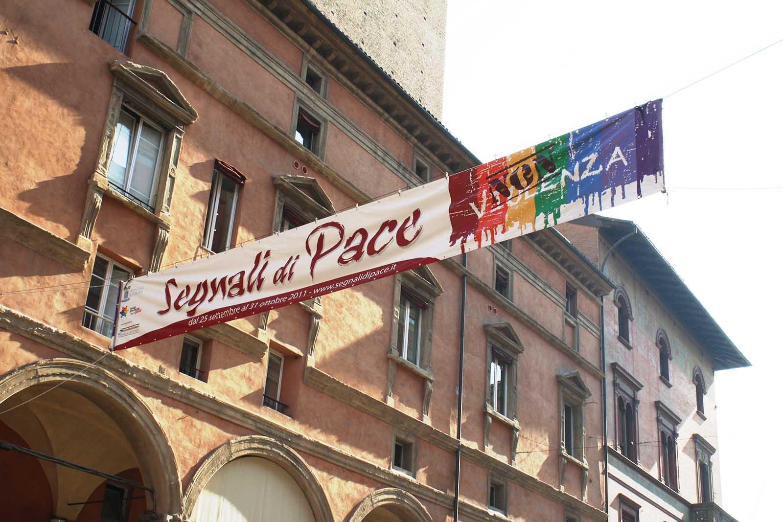 segnali di pace provincia bologna affissione