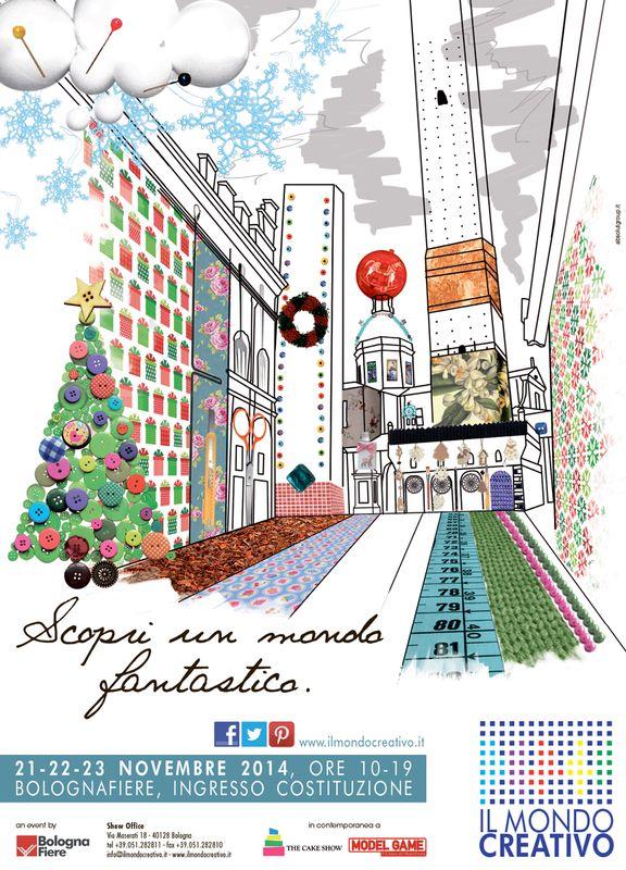 Bologna fiere e servizi il mondo creativo campagna di for Mondo bologna