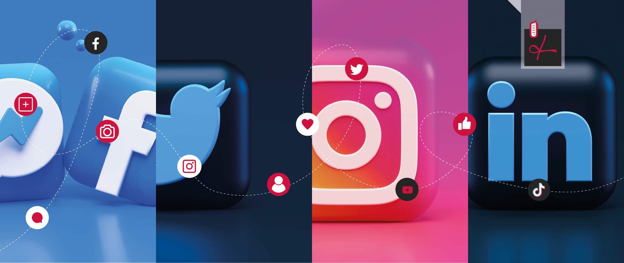 Su quanti social media dovrebbe essere presente la mia azienda?