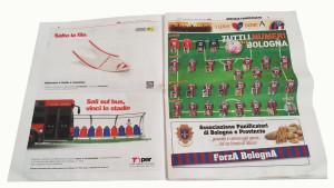 T-PER-ADVERTISING-Bologna-Calcio-giornale